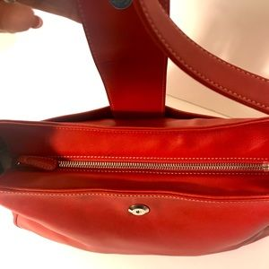 Coach Bags - Coach Red Leather Tote